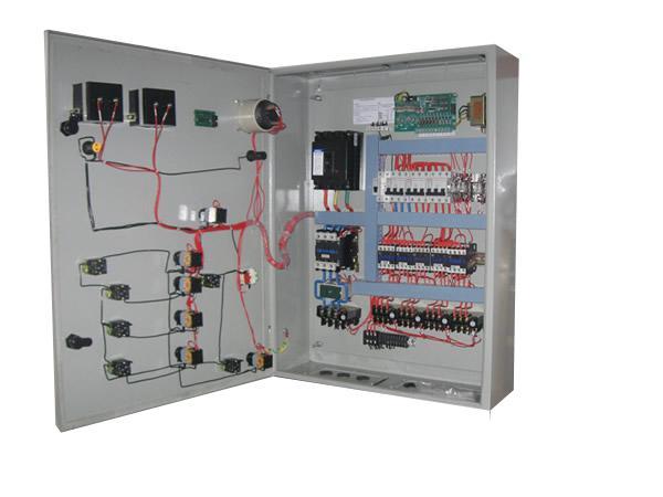 搅拌机配电箱实物接线电路图